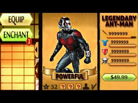 Shadow Fight 2 The Most Powerful Ant-Man