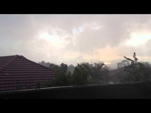 Crazy weather Perth