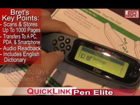 Wizcom Technologies QuickLink-Pen Elite -  JR.com