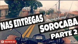 DIARIO DE UM MOTOBOY - PARTE 2 NAS ENTREGAS ANTES DA CHUVA - MOTOKALEITE - JP6