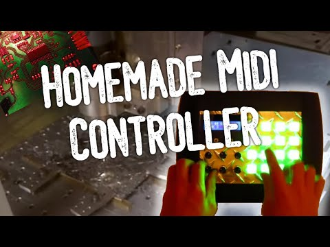 Homemade midi controller demo