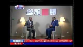 Entretien Exclusif du Président Hama Amadou sur GOLF TV Africa Aout 2015