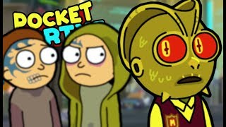 JUST MORTYS KILLING MORTYS | Pocket Mortys Multiplayer (Episode 16) | Gameplay, Reaction