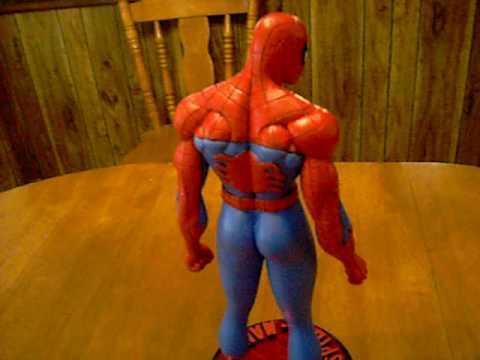 spiderman sculpture video