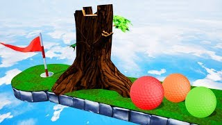 Can You WORK THIS HOLE OUT? - Golf It
