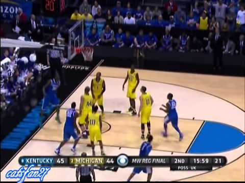 Kentucky vs Michigan Elite Eight 3/30/14