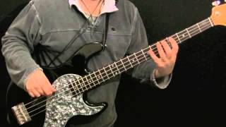 How to Play Bass To Roll Over Beethoven (The Beatles)