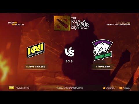🤠 [RU] Natus Vincere vs Virtus pro. NaVi Era | Bo3 | The Kuala Lumpur Major