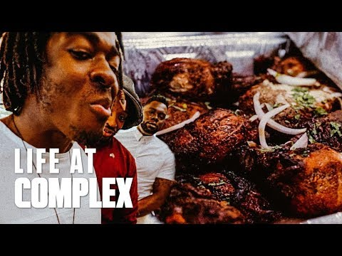 NEW SHOW & TRYING HAITIAN FOOD FOR THE FIRST TIME! | #LIFEATCOMPLEX