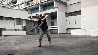 GEOMETRICAL ILLUSION | robot dance | animation dance