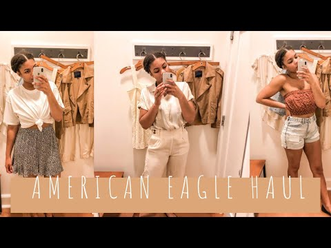 Spring Try On Haul | American Eagle