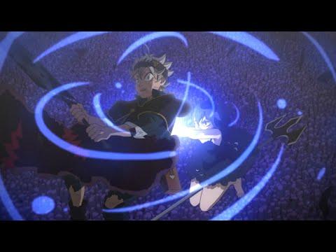 Аста и Юно против Демона - Финальный Бой, Ями помог победить Демона Слов   Черный Клевер   HD