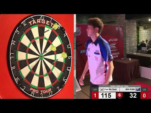2018 WDF ASIA-PACIFIC CUP 2018 Men's Singles FINAL