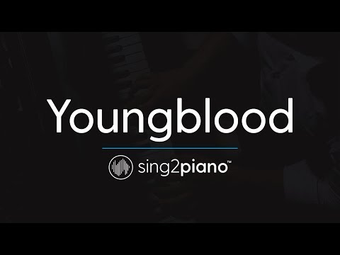 Youngblood (Piano Karaoke Instrumental) 5 Seconds Of Summer