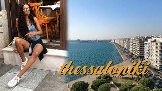 First Time In Greece -- Thessaloniki Travel Vlog #1