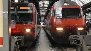 Zürich to Olten by SBB InterRegio