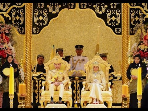 the sultan of brunei palace, world