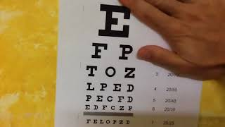 Check your visual acuity at home !!! Get your free eye chart here !!!