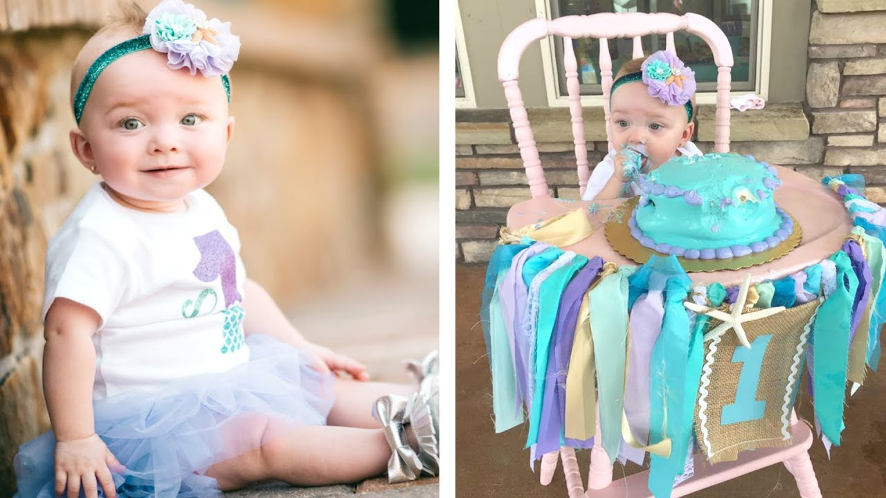 Baby S First Birthday Party Mermaid Theme Daily Vlog Youtube