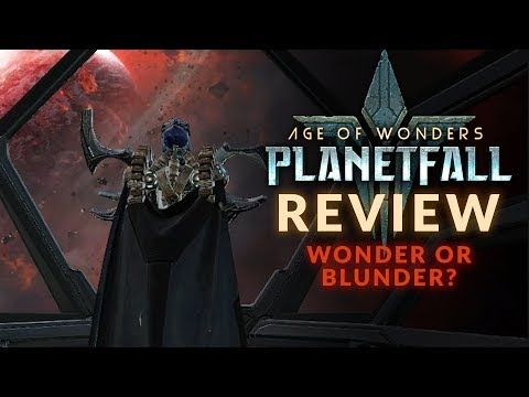 AGE OF WONDERS: PLANETFALL | REVIEW - Wonder Or Blunder? (PC Sci-Fi Strategy Game 2019)