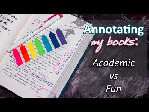HOW I ANNOTATE    With and without writing in my books