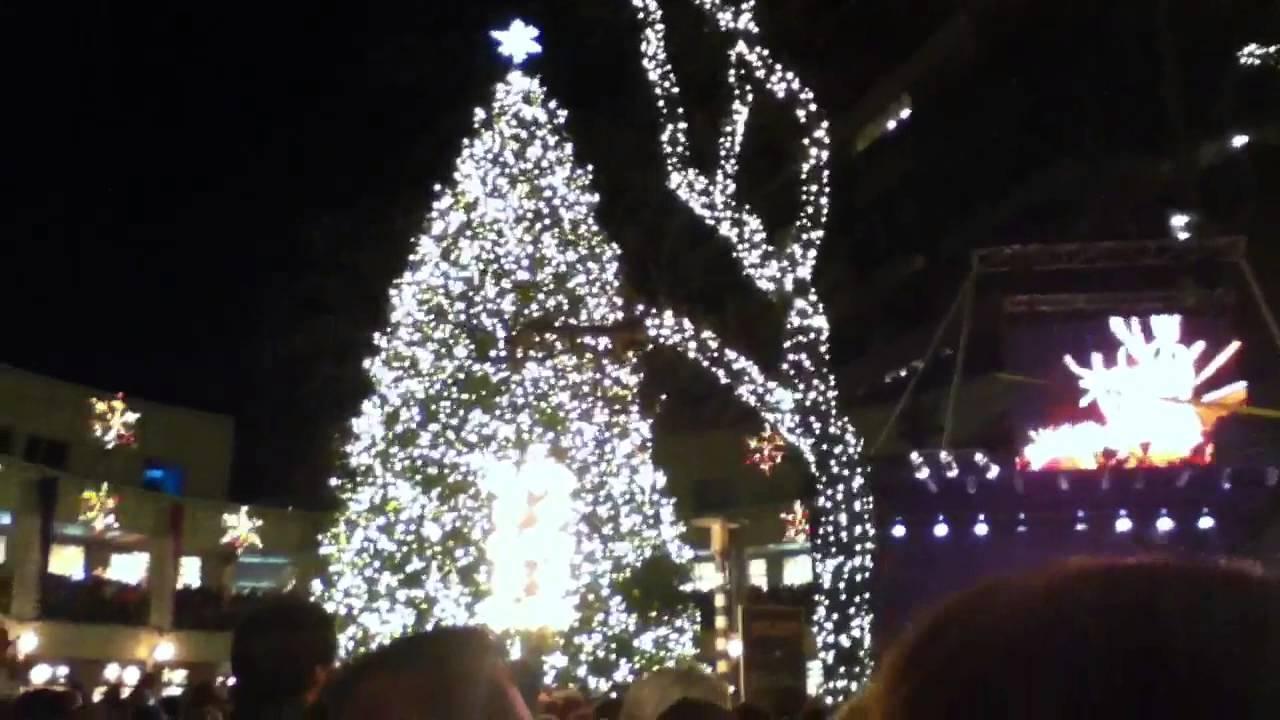 Boston 2013 Christmas Tree Lighting Faneuil Hall