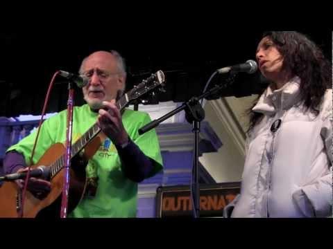 Peter & Bethany Yarrow - The Great Mandala Feb 28 2012 Don't Suppress Occupy Rally