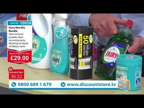 The Fairy Non Bio Bundle | Item No. 10028 | Discount Store TV