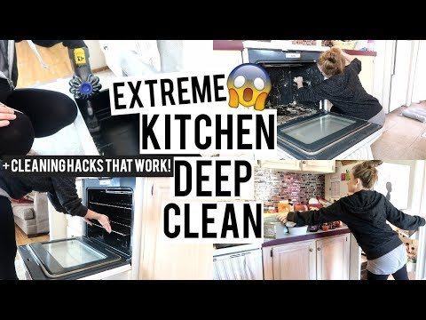 extreme-kitchen-deep-clean-|-spring-cleaning-motivation-2019