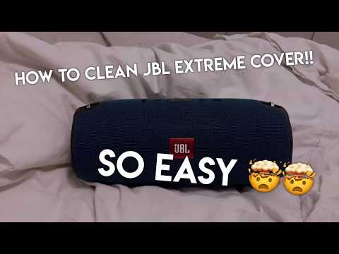 HOW TO CLEAN JBL EXTREME