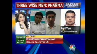 Maintain A Growth Estimate of 10-12%: Dishman Pharma