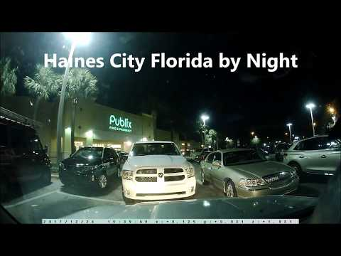 Haines City Florida by Night