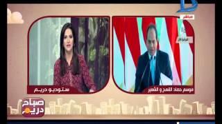 """صباح دريم   الرئيس السيسي يطلق اشارة حصاد القمح 7 مايو في """"سهل بركة"""""""