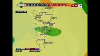 BP: Weather update as of 4:39 p.m. (August 17, 2018)