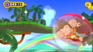 Super Monkey Ball: Step And Roll (Wii) World 1 Gameplay