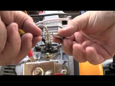 Diesel Generator - Bleeding Air From Fuel Lines - YouTube