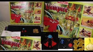 The Vampire Games By Waddingtons Board Game Rules Instructions & Game Play