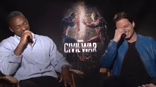 Anthony Mackie & Sebastian Stan being a chaotic duo for 14 minutes straight