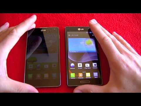 LG Optimus G frente LG Optimus L9, comparativa