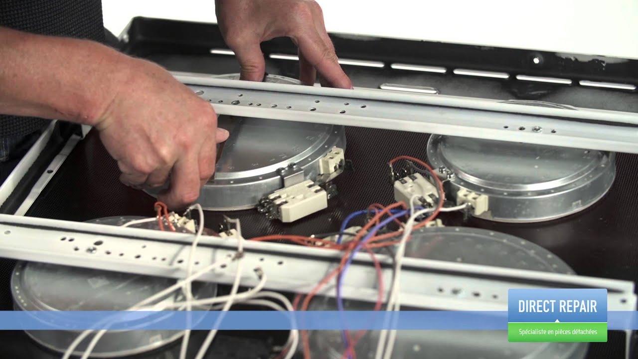 Demonter plaque cuisson electrique
