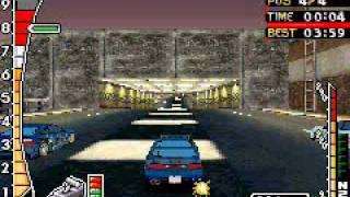 Need for Speed Underground 2 GBA Drag race