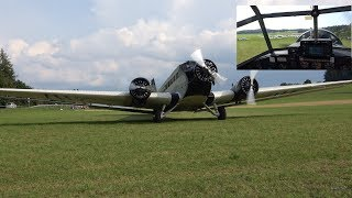How is it to fly the Junkers Ju 52
