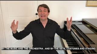 Quelques mots sur l'opéra - A few words about opera Laurent Pillot