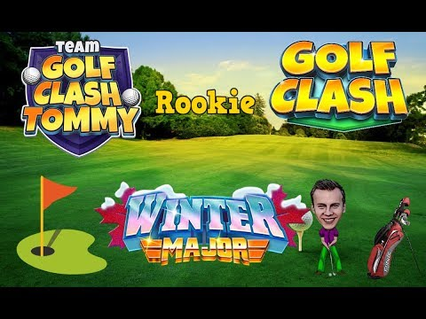 Golf Clash tips, Playthrough, Hole 1-9 - ROOKIE - Winter Major Tournament!