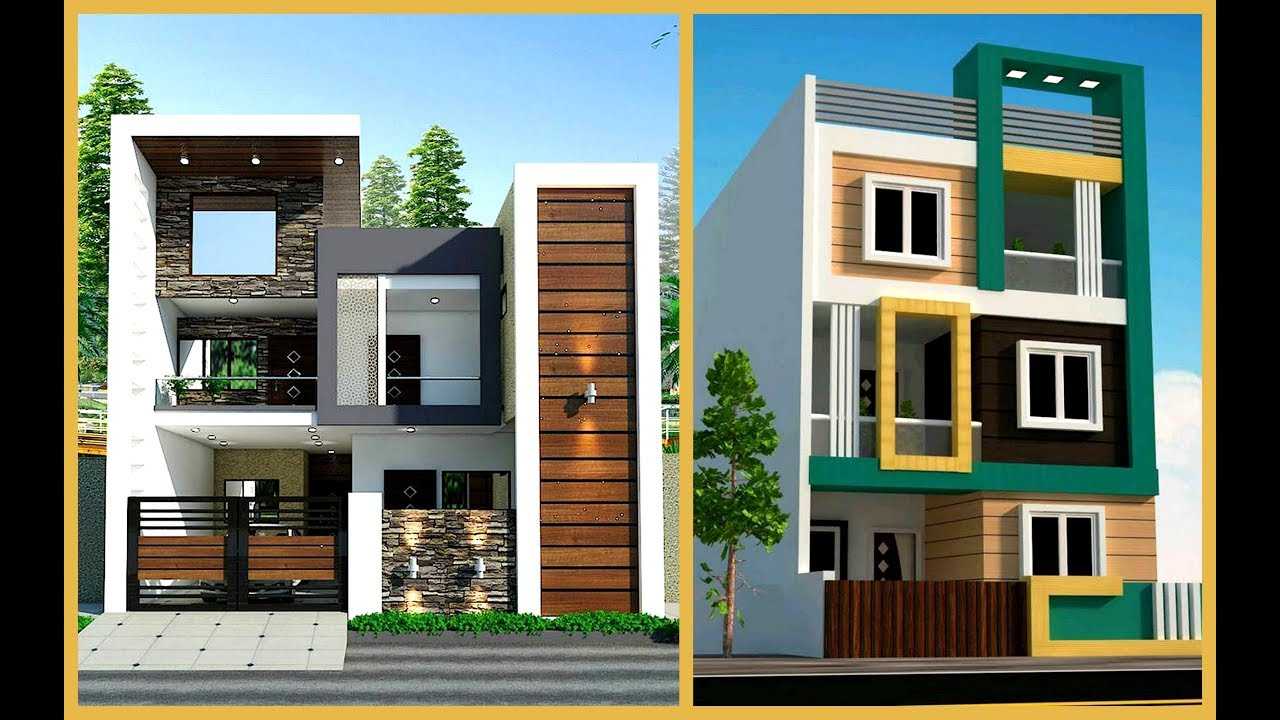 100 Most Beautiful Modern House Front Elevation Designs ...