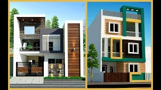 100 Most Beautiful Modern House Front Elevation Designs- 3d views Modern House- Plan N Design