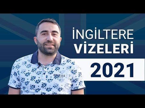 2021 İngiltere Vizeleri / Ankara Anlaşması / Skilled Worker Vize / Startup Vize