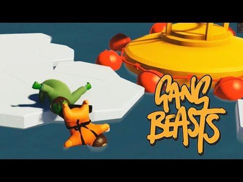 LA TÉCNICA DEL ESCORPIÓN ACUÁTICO! Gang Beasts
