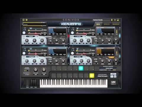 Vocalizer Pro Overview | SONiVOX
