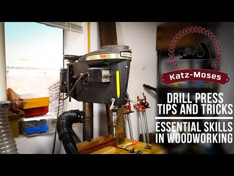 Important Abilities in Woodworking – Drill Press Ideas and Tips